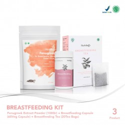 Herbilogy Breastfeeding Kit With Fenugreek