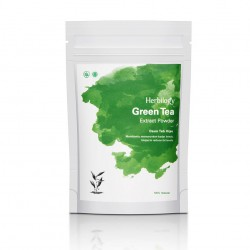 Herbilogy Green Tea (Daun Teh Hijau) Extract Powder 100g
