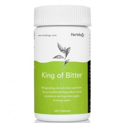 Herbilogy King Of Bitter (Sambiloto) Extract Capsule