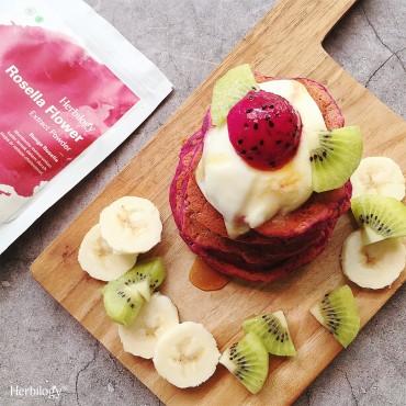 Vegan Pink Pancakes