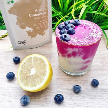 Pitaya Blueberry Smoothie