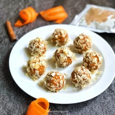 Cinnamon Carrot Cake Balls