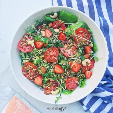 Green Fenugreek Salad