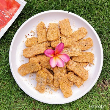 Ginger Tempe Cookies